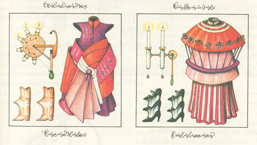 Codex Seraphinianus - Costumi