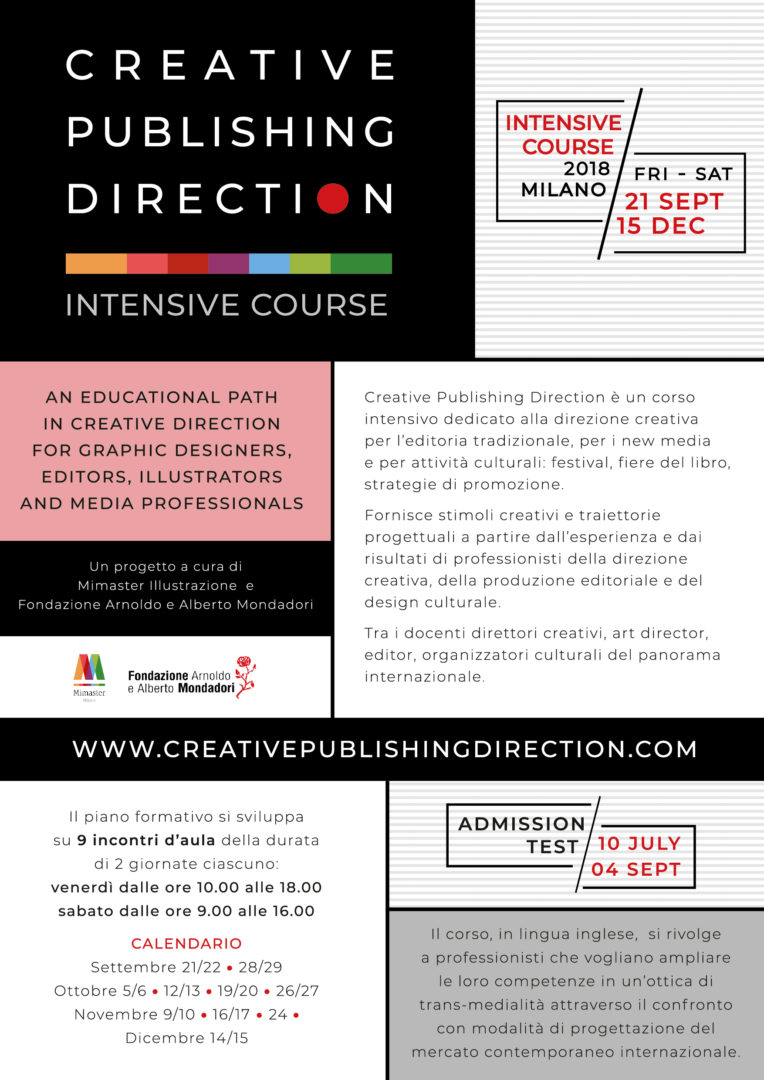 Creative Publishing Direction – Intensive Course