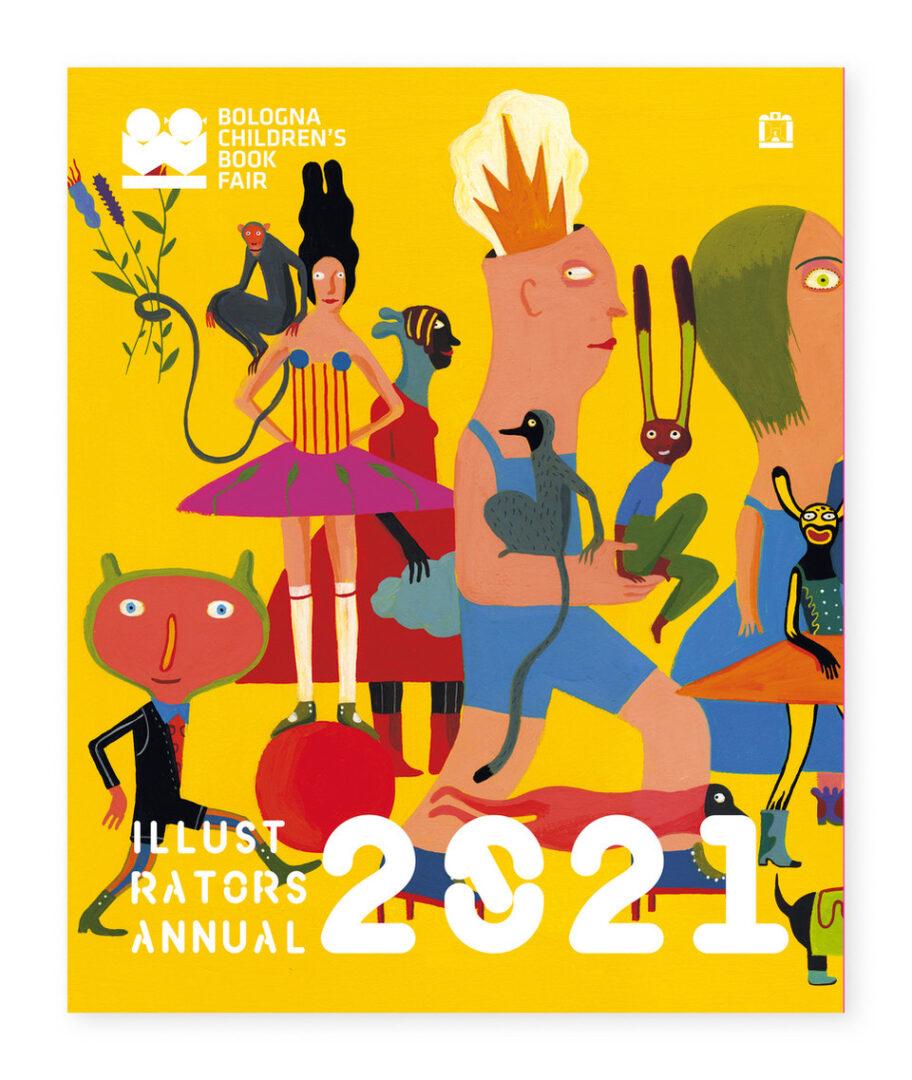 Cover Annual 2021 - Corraini Edizioni