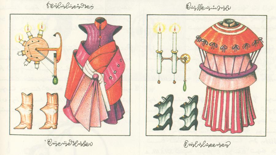 Codex Seraphinianus - Costumi