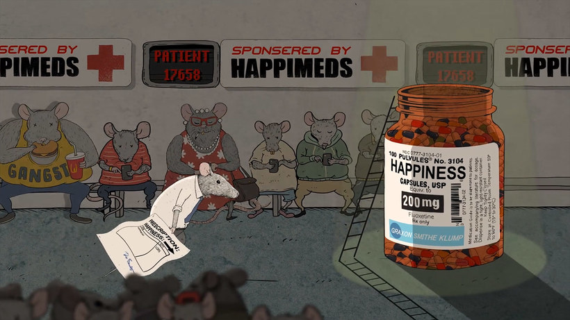 ©-Steve Cutts-Happiness-Animation