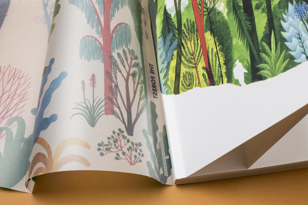 Details Enchanted Lion Books - The Forest - Bozzi, Lòpiz, Vidali