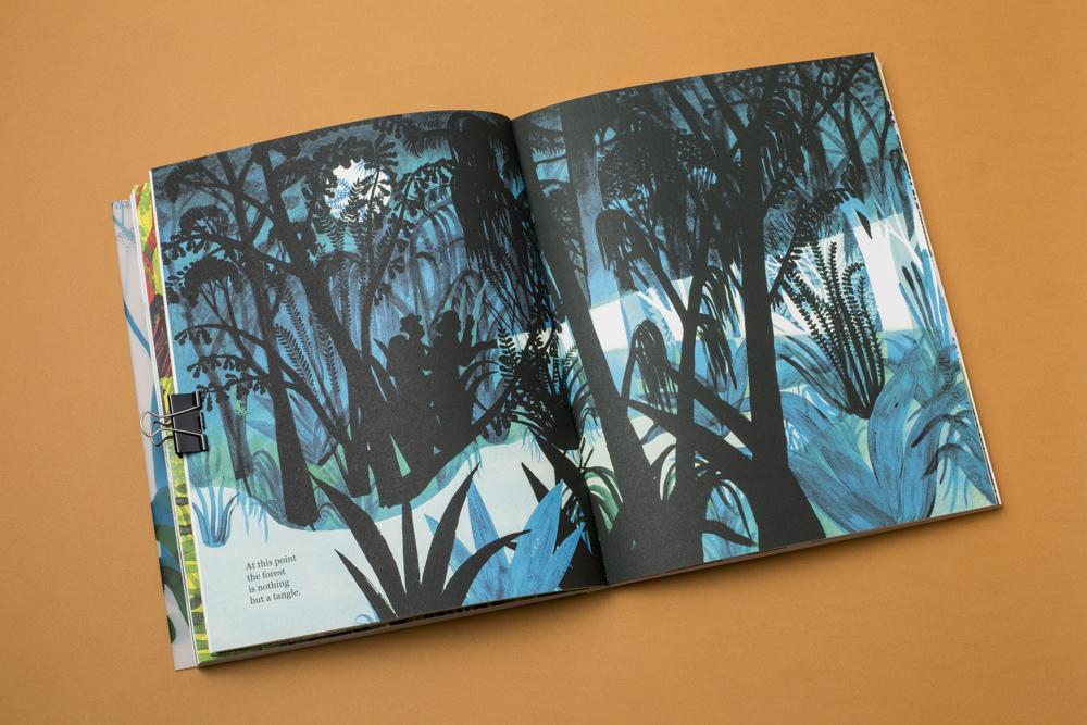 Inner Pages Enchanted Lion Books - The Forest - Bozzi, Lòpiz, Vidali
